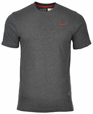 a26f8d10 Nike Men's Athletic Department Cotton Crew Basic T-shirt Tee Size S M L XL  Large Dark