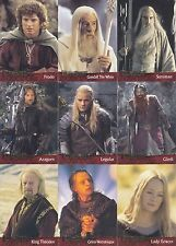 LORD THE RINGS FELLOWSHIP ACTION FLIPZ 2002 PROMO PROMOTIONAL SELL SALE SHEET