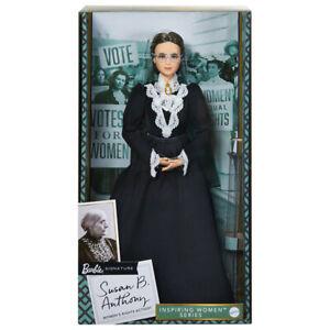 Barbie 2020 Inspiring Women SUSAN B. ANTHONY Doll (GHT84) Black Label