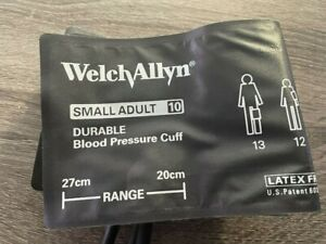 Welch Allyn Durable Small Adult 10 Blood Pressure NIBP Cuff