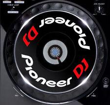 PIONEER DJ CDJ JOG / SLIPMAT grafica / Adesivi (BIANCO) 2000 1000 900 800 850