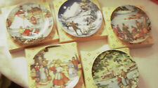 5 Avon American Portraits Collector plates:West, East, South, Rockies, Southwest