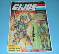*RECARDED* 1983 GI Joe Airborne v1 Figure Complete Sealed *CUSTOM File Card Back