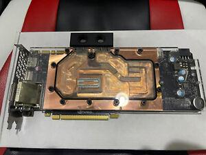 Nvidia GTX 1080 W/EK Waterblock
