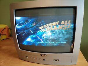 "Durabrand PTV3607 14"" CRT TV Retro Gaming Television"