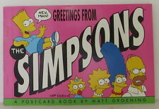 MATT GROENING Greetings from the Simpsons INSCRIBED FIRST EDITION