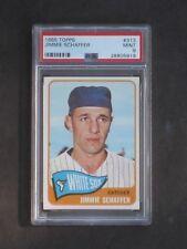 1965 Topps Jimmie Schaffer # 313 White Sox PSA 9 MINT