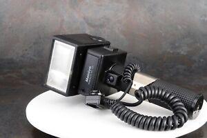 ^Mamiya Mamiyalite MZ 36R Camera Flash w/ Extension Cable Sensor [FOR PARTS]