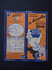 Carte MICHELIN old map SUISSE GENEVE BERN BERNE n° 23 Bibendum pneu tyre