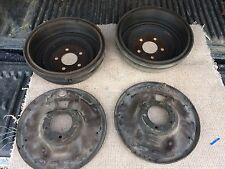 """Mopar 11 """" Brake Backing plates and drums for 8 3/4  size 11 x 2.5"""""""