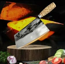Handmade Chef Knife Traditional Forged Cleaver Meat Vegetables Kitchen Tools