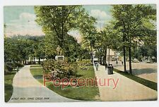 Vintage Postcard 1908 Michigan Detroit Grand Circus Park Posted to Chicago