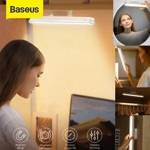 Baseus LED Schreibtischlampe Magnetisch Tischleuchte Kabellos Leselampe Mit Akku