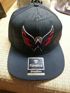 Washington Capitals Fanatics Primary Logo Trucker Snapback Hat