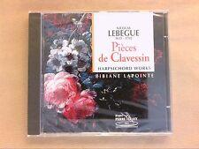 CD / NICOLAS LEBEGUE / PIECES DE CLAVECIN / BIBIANE LAPOINTE / NEUF SOUS CELLO