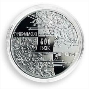 Ukraine 20 hryvnas 600 Years of the Battle of Grunwald silver proof coin 2010
