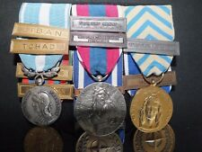 PLACARD MEDAILLE COMMANDOS  MARINE FUSILIERS MARINS LIBAN TCHAD AFGHANISTAN