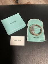 TIFFANY & CO. STERLING SILVER 925 MAN IN THE MOON CRESCENT BABY RATTLE TEETHER
