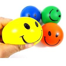 1 PC Mini Neon Smile Face Relaxable Balls Hot Sell Free P&P Hot Sell B