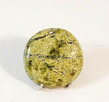 Natural Serpentin , Serpentine Cabochon ,  Edelsteine 18x18x4 mm, 11ct. (12)