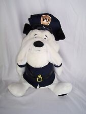 "Police Puppy Dog 20 "" Plush Stuffed Animal Plays God Bless the Usa Uniform Hat"