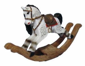 Dollhouse Miniature Resin Rocking Horse