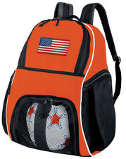 American Flag Ball Bag SOCCER Volleyball Backpack LOADED w/ POCKETS!