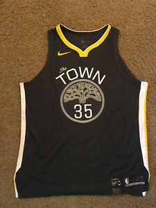Kevin Durant Golden State Warriors Nike Authentic The Town Jersey XXL 56 2X $200