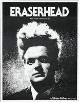 Home Wall Art Print - Vintage Movie Film Poster - ERASERHEAD - A4,A3,A2,A1