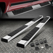 "FOR 15-19 FORD F150 CREW CAB STAINLESS STEEL 4.5"" SIDE STEP BAR RUNNING BOARD"