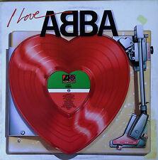 ABBA - I LOVE ABBA - ATLANTIC 7 80142-1 - 1984 LP - 14 TRACKS