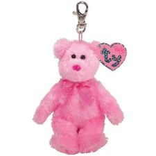 Ty Beanie Babies 40269 Dazzler the Pink Bear Pinkys Key Clip