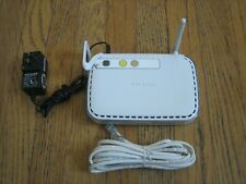 Netgear WGR614 v10 10/100 Wireless-G Router 4 Ports w/PwrCord & Cable  - Works!