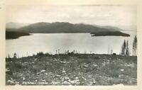 Kalispell Island 1940s Priest Lake Idaho RPPC real photo postcard 4910