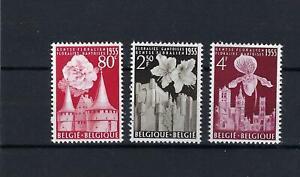 [LK6125] Belgium N°961/963 Flowers MNH ** COB € 15,00 SUPERB