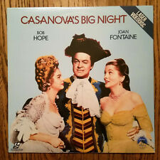 LD Laserdisc SEALED NEW Bob Hope CASANOVA'S BIG NIGHT  Joan Fontaine