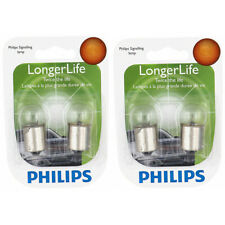 Two Philips Long Life Mini Light Bulb 63LLB2 for 63 63LL G-6 7V 4.41W Long vr
