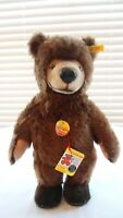 Steiff Germany Klein Archie Mohair Hand Crafted Stuffed Teddy Bear Signed Paw
