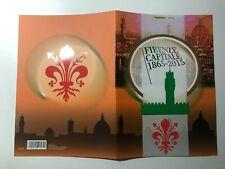 2015 Folder Firenze Capitale d'Italia 1865 - 2015 - Italy Italien Italie