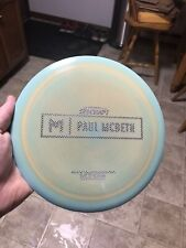 Discraft Paul McBeth Proto Kong Zeus 170-172 Blue Orange Yellow Checker Stamp