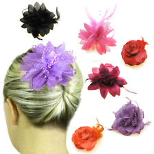 Hair Fascinators Flowers Mother of the Bride Accessories Head Pieces Clips UK