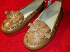 Gap Girl's Size 4 Brown Slip-On Flat Shoes. NWT