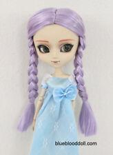 "1/3 bjd Pullip 9-10"" lavender color braid style doll wig Taeyang Soom ID Feeple"