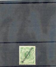 """MARSHALL IS Sc 2(MI 2II)*F-VF LH 1899 5pf OPAL GREEN """"MARSCHALL IS"""" $200"""
