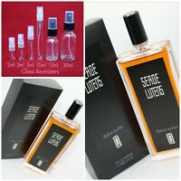 Serge Lutens AMBRE SULTAN Authentic SAMPLE 1ml 2ml 3ml 5ml 10ml 15ml Glass Spray