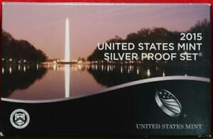Uncirculated 2015 United States Silver Proof Set