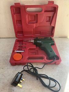 Blackspur 100 Watt/240 Volt Expert Soldering Gun Kit with Case. TB3