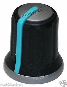 ALLEN & HEATH AJ4245 ROTARY CONTROL KNOB XONE32 XONE62 XONE 32 62 02 BLUE NEW