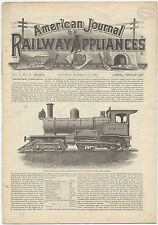 American Journal of Railway Appliances - original issue from Dec. 18, 1885.