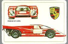 Carte Porsche 917 racing car course automobile Le Mans Sport Proto Trading card